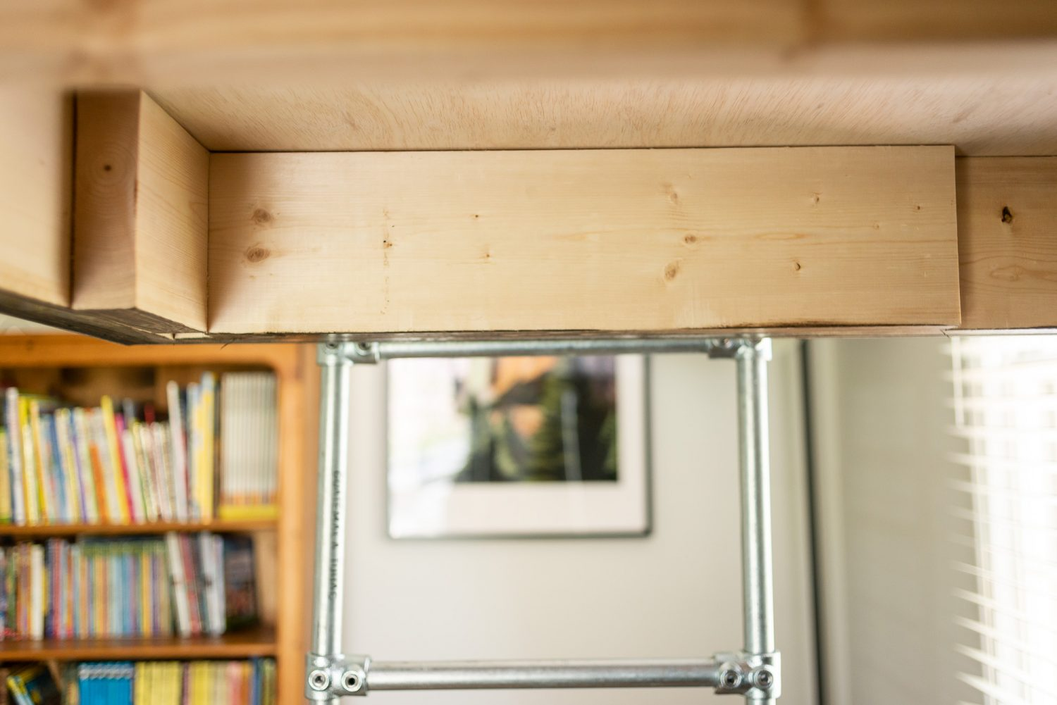 Loft bed for boy's room