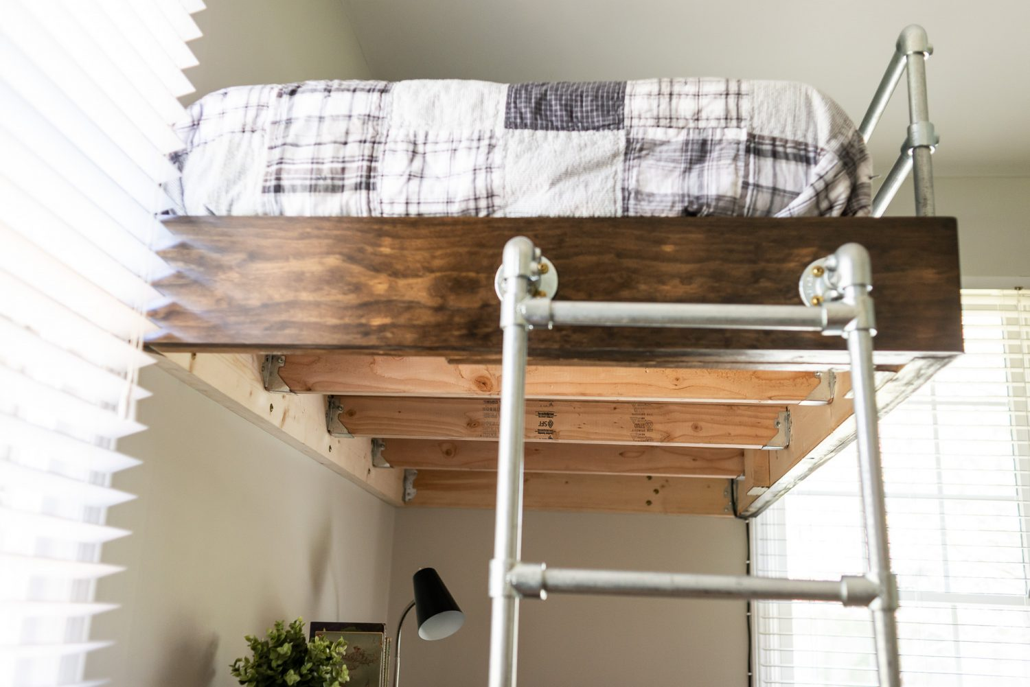 Loft bed for boy's room.