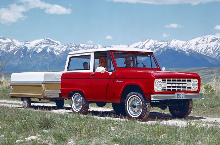 1966 Ford Bronco, © Ford Motor Company