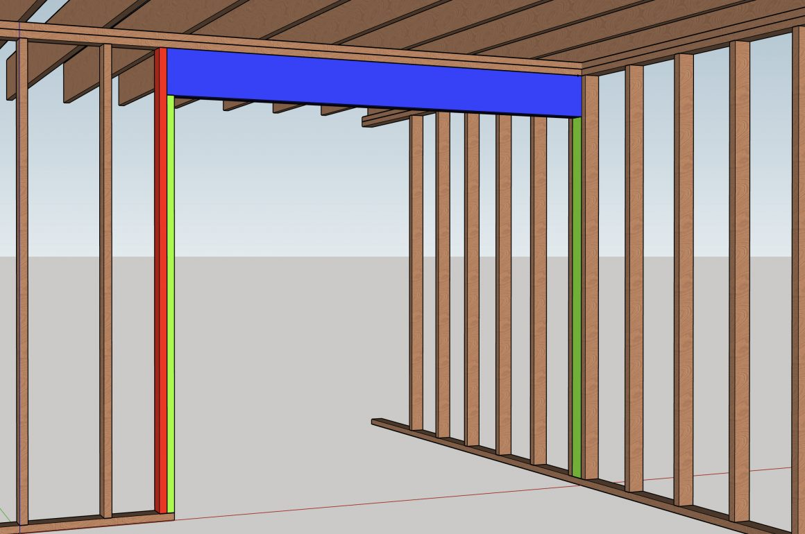 Anatomy of a load-bearing wall removal
