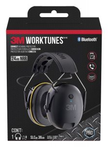 over-the-ear hearing protection with bluetooth