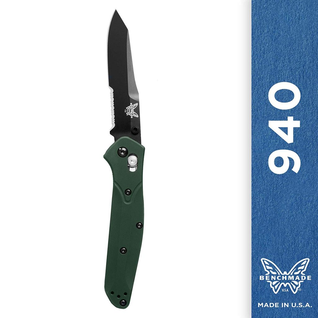 Example of a knife with an Axis Lock.  Benchmade 940