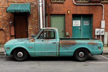 1968 GMC patina short bed truck