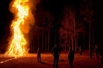 Annual Christmas Tree Burning