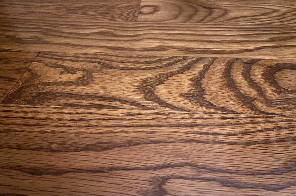 oak hardwood flooring detail