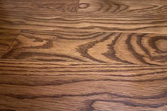 oak hardwood flooring detail