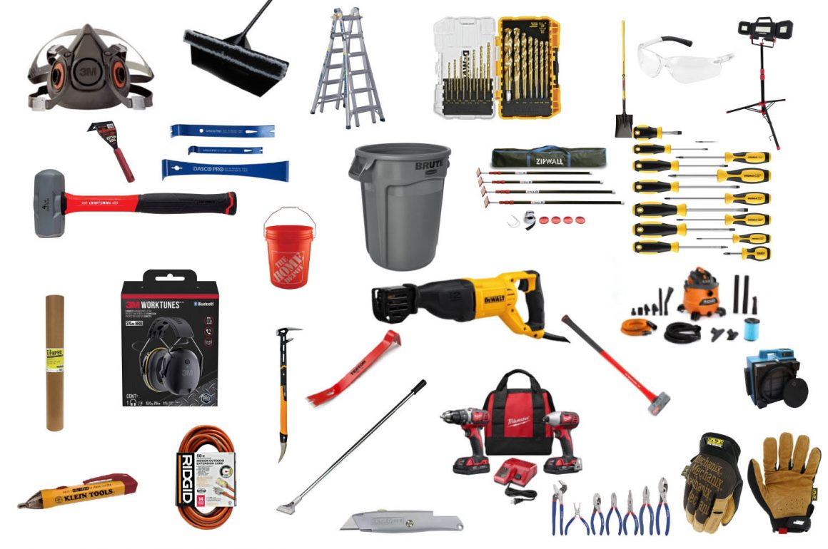 Must-Have Tools for Demolition