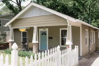 image of the front of a craftsman style home