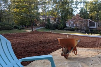 redoing an entire lawn